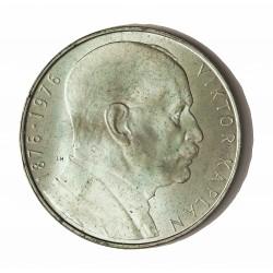 Checoslovaquia 100 Korun. 1976. AG. 15gr. Ley:0,700. (100º Anv.V.Kaplan). Ø32mm. SC. KM. 85