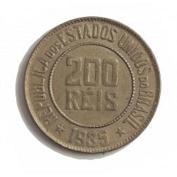 Brasil 200 Reis. 1935. CUNI. 7,8gr. Ø25mm. SC-/SC. KM. 519