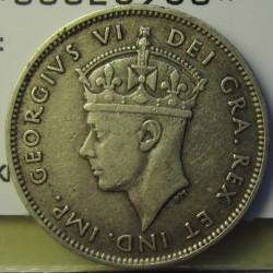 Chipre 9  Piastras. 1940. AG. 5,665gr. Ley:0,925. Ø23mm. MBC/MBC+. KM. 25