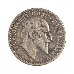 Bulgaria 50 Stotinki. 1910. AG. 2,5gr. Ley:0,835. Ø18mm. MBC. KM. 27
