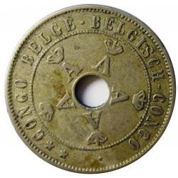 Congo Belga-(1909/1960) 20 Cts. 1911. CUNI. 5,92gr. Ø25,1mm. MBC. KM. 19