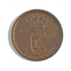 Dinamarca 1 Ore. 1894. (Copenhage). VBP. AE. 2gr. Ley:0,000. Ø16mm. MBC+. KM. 792.2