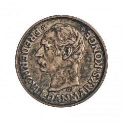 Dinamarca 10 Ore. 1907. (Copenhage). VBP-GJ. AG. 1,45gr. Ley:0,400. Ø15mm. EBC-/EBC+. KM. 807