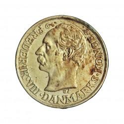 Dinamarca 25 Ore. 1907. (Copenhage). VBP-GJ. AG. 2,42gr. Ley:0,600. Ø17mm. EBC+/SC-. KM. 808