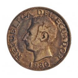 Ecuador 1 Sucre. 1930. Filadelfia. U.S.A. AG. 5gr. Ley:0,720. Ø23mm. EBC/SC-. KM. 72