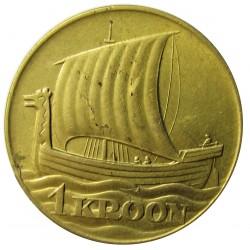 Estonia 1 Kroon/i. 1934. CUNI. 5,96gr. Ø25mm. EBC/EBC+. (Hojitas anv.). KM. 16