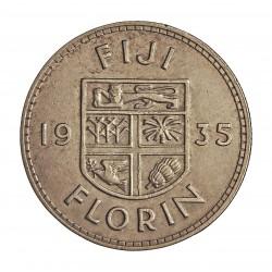 Fiji.-Islas 1 Florin. 1935. AG. 11,31gr. Ley:0,500. Ø28mm. EBC. KM. 5
