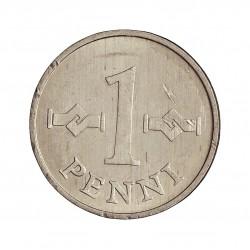 Finlandia 1 Pennia. 1972. AL. 0,5gr. (Suomen Tasavalta). Ø16mm. SC. KM. 44 a