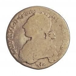 Francia 24  Sols. 1778. M-(Tolouse). AG. 5,835gr. Ley:0,917. (1/5 Ecu). Ø26mm. RC. GAD. 354 - KM. 569.8