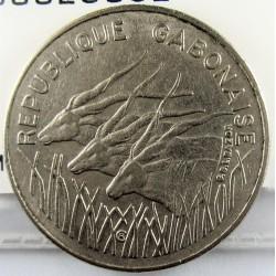 Gabon 100 Francos. 1978. (a). NI. 7,04gr. Ø25mm. MBC-/MBC. KM. 13