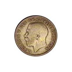 Gran Bretaña 1 Schilling. 1921. AG. 5,655gr. Ley:0,500. Ø24mm. MBC-. KM. 816 a