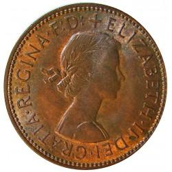 Gran Bretaña ½ Penny. 1967. AE. 5,75gr. Ø25mm. SC-/SC. KM. 896