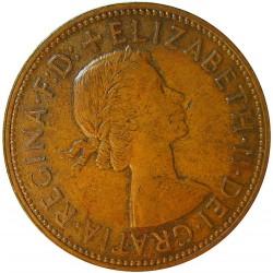 Gran Bretaña 1 Penny. 1966. AE. 9,56gr. Ø30,8mm. EBC+. KM. 897