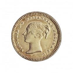 Gran Bretaña 1,5 Pence. 1843. AG. 0,707gr. Ley:0,925. Ø12mm. EBC+/SC-. KM. 728