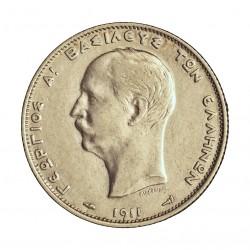 Grecia 2 DRACMA. 1911. AG. 10gr. Ley:0,835. Ø27mm. EBC. KM. 61