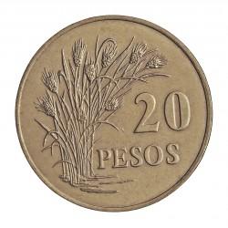 Guinea Bisau-Rep. 20 Pesos. 1977. CUNI. 13gr. Ø31,5mm. SC-/SC. KM. 21