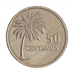 Guinea Bisau-Rep. 50 Ctvo. 1977. AL. 2,1gr. Ø25mm. SC-/SC. (Gpcito.listel). KM. 17
