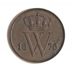 Holanda 1 Cts. 1876. CU. 3,5gr. Ø22mm. EBC+/SC-. KM. 100