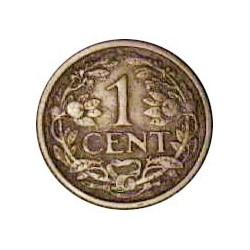 Holanda 1 Cts. 1922. CU. 2gr. Ø19mm. MBC+. KM. 152
