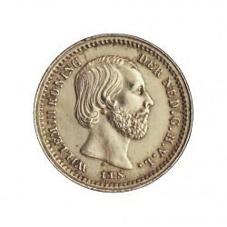 Holanda 5 Cts. 1876. AG. 0,685gr. Ley:0,640. Ø13mm. SC/SC-. (Insig.gpcto.cto.). KM. 91