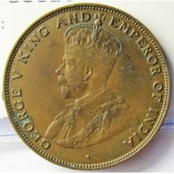 Hong Kong 1  Cent. 1923. AE. 7,5gr. Ø27,5mm. MBC/MBC+. KM. 16