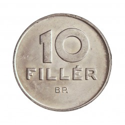 Hungria 10 Filler. 1971. B.P. AL. 0,67gr. Ø18mm. SC. KM. 572