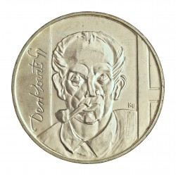 Hungria 200 Forint. 1976. AG. 28gr. Ley:0,640. (Derkovits). Ø37mm. SC. KM. 609