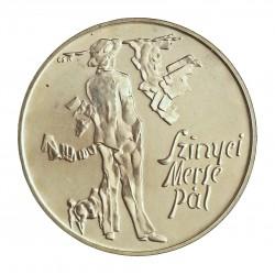 Hungria 200 Forint. 1976. AG. 28gr. Ley:0,640. (Szinyel). Ø37mm. SC. KM. 608