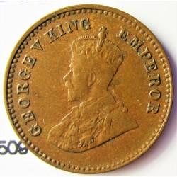 India Britanica 0,12 Anna. 1914. C-(Calcuta). CU. 1,55gr. Ø17,5mm. EBC. KM. 509