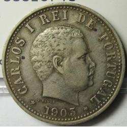 India Portuguesa 1 Rupia. 1903. AG. 11,66gr. Ø30mm. MBC+/EBC-. KM. 17