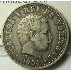 India Portuguesa 1 Rupia. 1904. AG. 11,66gr. Ø30mm. MBC-/MBC. KM. 17