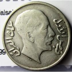 Iraq 20  Fils. 1931. AG. 3,6gr. Ley:0,500. (Faisal I). Ø20mm. MBC/MBC+. KM. 99