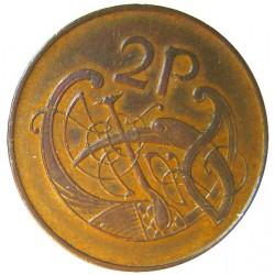 Irlanda.-Rep. 2 Pence. 1971. AE. 7,23gr. Ø25,5mm. SC-/SC. KM. 21