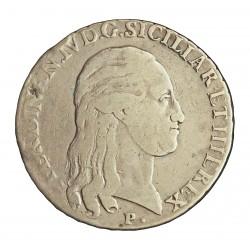 Italia 120  Grana. 1798. Napoles y Sicilia. P/M.A.P.  AG. 27,265gr. Ley:0,834. Ø40mm. MBC-/MBC+. (Gpcito.cto.). KM. 66 b - DAV.