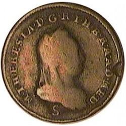 Italia 1  Soldo. 1777. S-(Schmollnitz). CU. 7,22gr. (Mª Theresa). Ø24mm. MBC-/MBC. KM. 186