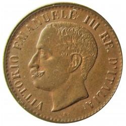 Italia 1  Cts.  1903. R-(Roma). CU. 1gr. Ø15mm. SC-/SC. (Lev.patina). KM. 35
