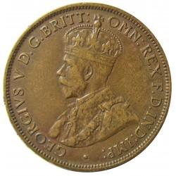 Jersey 0,041 Shilling. 1909. (1/24º de Schilling). AE. 5,6gr. (George V). Ø25mm. MBC/MBC+. KM. 11