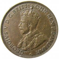 Jersey 0,041 Shilling. 1923. (1/24º de Schilling). AE. 5,6gr. (George V). Ø25mm. EBC/EBC+. KM. 13