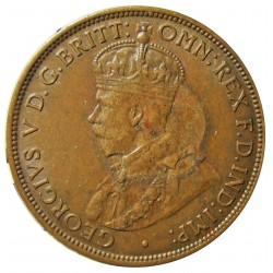 Jersey 0,04 Shilling. 1923. (1/24º de Schilling). AE. 5,6gr. (George V). Ø25mm. EBC+/SC-. KM. 11