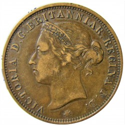 Jersey 0,083 Shilling. 1888. (1/12º de Shilling). AE. 9,5gr. (Victoria). Ø30,5m/m. MBC. KM. 8