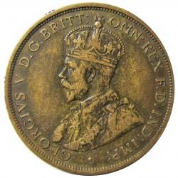Jersey 0,083 Shilling. 1911. (1/12º de Shilling). AE. 9,37gr. (George V). Ø30mm. MBC+. KM. 12
