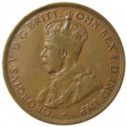 Jersey 0,083 Shilling. 1923. (1/12º de Shilling). AE. 9,37gr. (George V). Ø30mm. MBC+/EBC. KM. 12