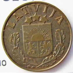 Latvia 1 Santim/i. 1937. AE. 1,65gr. Ø17mm. EBC+/SC-. (Patina). KM. 10