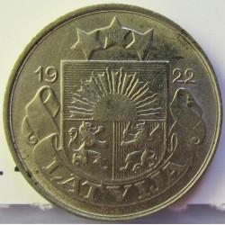 Latvia 10 Santim/i. 1922. NI. 3gr. Ø19mm. EBC-. (Lev.marquitas). KM. 4
