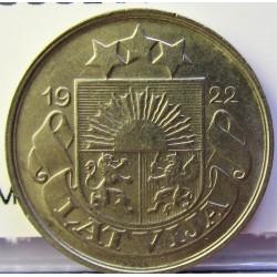 Latvia 20 Santim/i. 1922. NI. 6gr. Ø21mm. EBC-/EBC. (Lev.marquitas). KM. 5