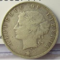 Liberia 25 Cent. 1906. Heaton. AG. 5,8gr. Ley:0,925. Ø24mm. MBC. KM. 8