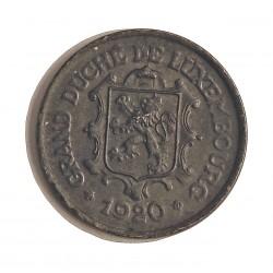 Luxemburgo 25  Cts.  1920. FE. 4gr. Ø22,5mm. SC-/SC. (Insig.oxid.). MUY ESCASO/A. en esta conservacion. KM. 32
