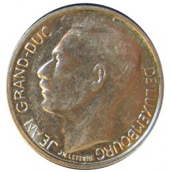 Luxemburgo 1  Francos. 1981. NI. 3,97gr. (Duque de Luxemburgo). Ø21mm. SC. KM. 55