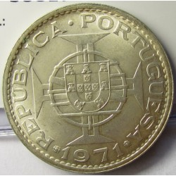 Macao 5 Patacas. 1971. AG. 10gr. Ley:0,650. Ø30mm. SC. KM. 5 a