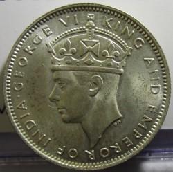 Malaya 20 Cent. 1939. AG. 5,43gr. Ley:0,750. Ø23mm. SC. (Tono original). KM. 5